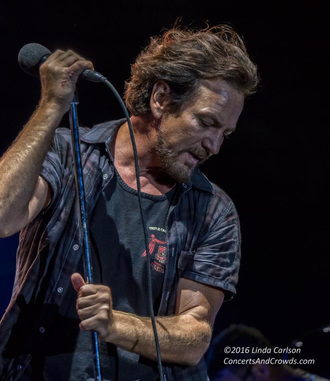 Eddie Veder, Pearl Jam, July 2016