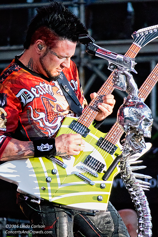 Five Finger Death Punch, ROTR 2016